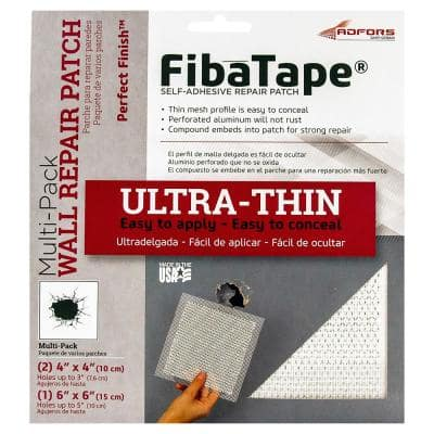 FibaTape Perfect Finish Multi-Pack Self-Adhesive Wall Repair Patch