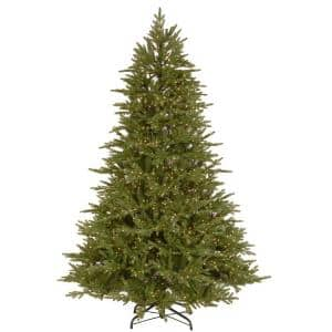 7.5 ft. Bedminster Spruce Medium Tree with Dual Color LED Infinity Lights