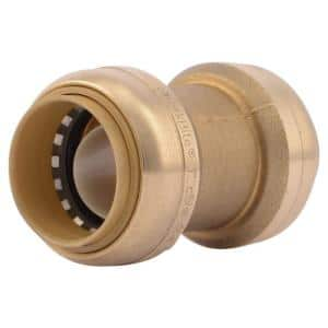 1 in. Push-to-Connect Brass Coupling Fitting