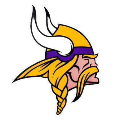 NFL Minnesota Vikings Outdoor Logo Graphic- Small