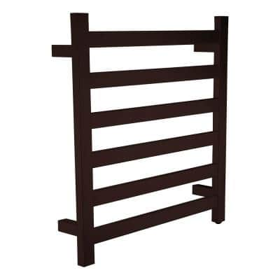 Note 6-Bar Stainless Steel Wall Mounted Towel Warmer in Oil Rubbed Bronze