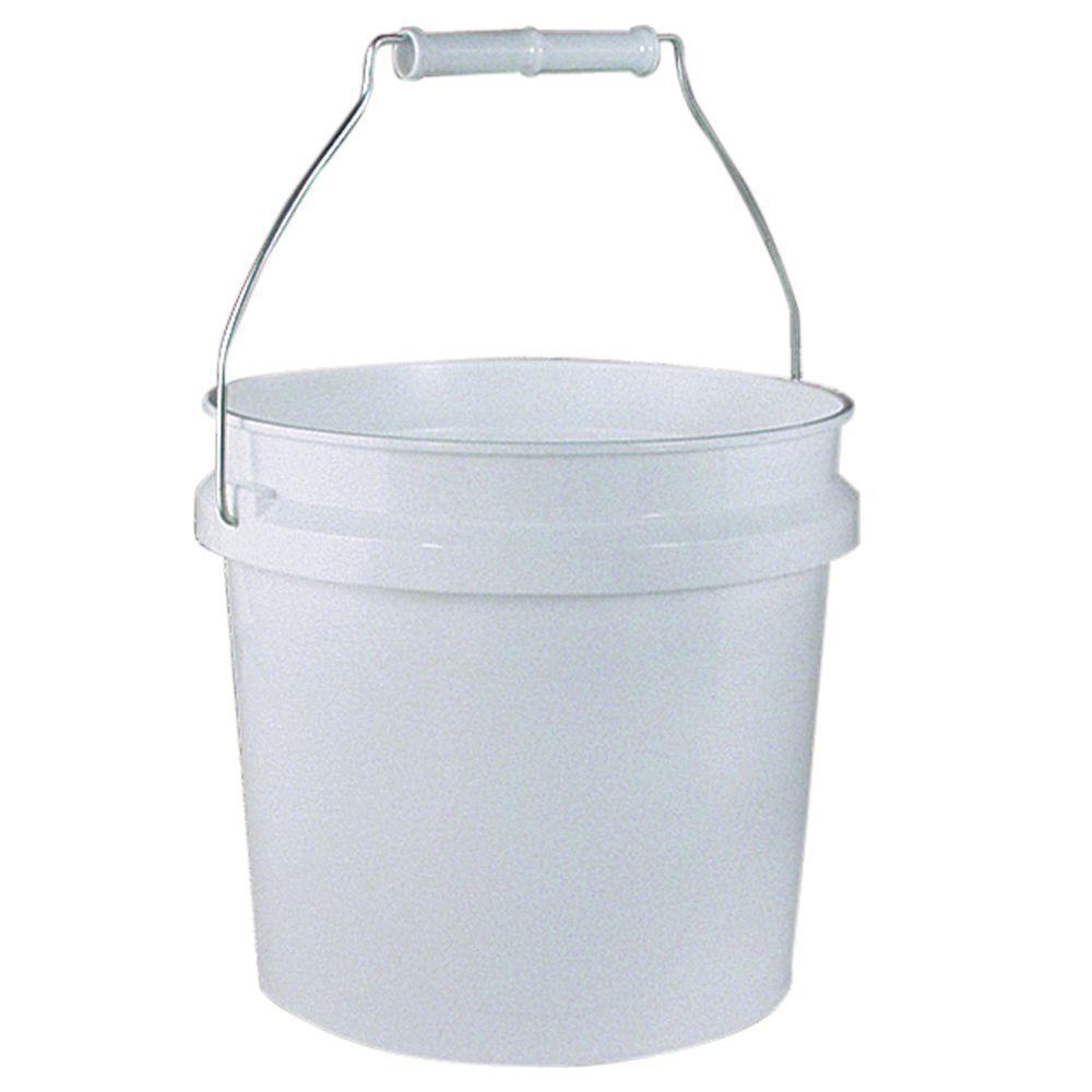 1 gal. Bucket in White (Pack 24)