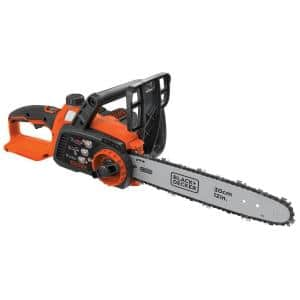 12 in. 40V MAX Lithium-Ion Cordless Chainsaw with (1) 2.0 Ah Battery and Charger Included
