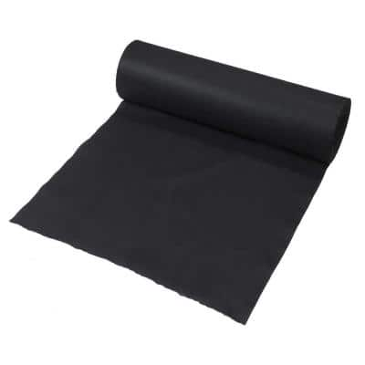 3 ft. x 300 ft. Black Polypropylene Non Woven Filter Fabric