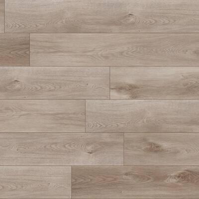 Aubrey Groveland Gray 9 in. x 60 in. Rigid Core Luxury Vinyl Plank Flooring (48 cases/1077.12 sq. ft./pallet)