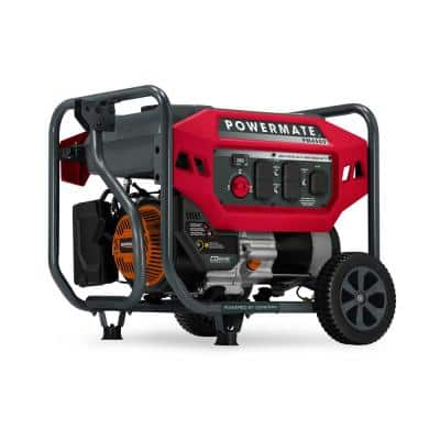 PM4500 3600 Running Watt Manual Start Gasoline-Powered Portable Generator with CO-Sense, 49 ST/CSA