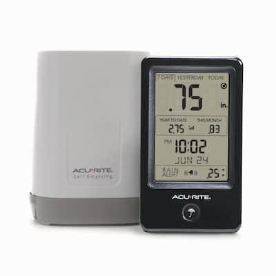 Wireless Rain Gauge with Indoor Digital Display