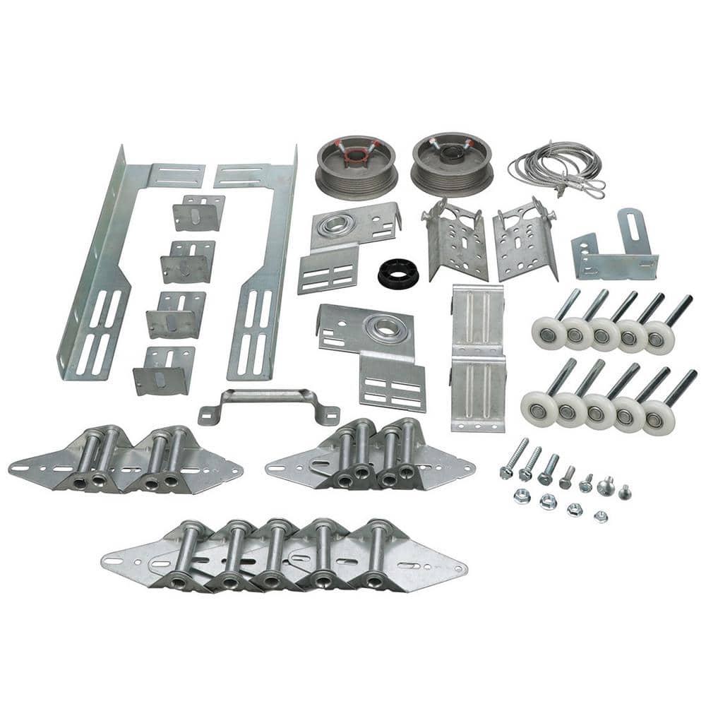 Dura Lift Garage Door Hardware Installation Kit For 8 Ft X 7 Ft Doors Dlk8 The Home Depot