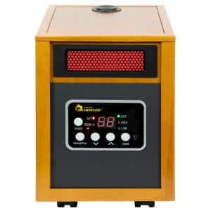1500-Watt Infrared Portable Space Heater with Humidifier and Dual Heating System