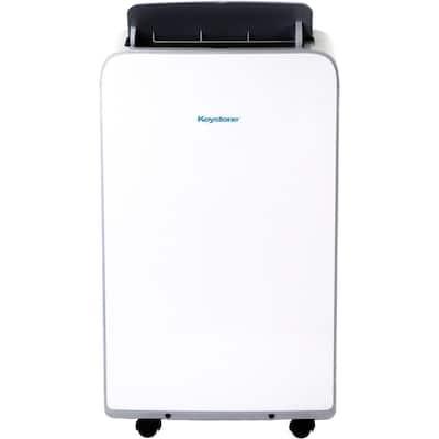 8,000 BTU (5,500 BTU DOE) Portable Air Conditioner in White