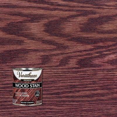 1 qt. Black Cherry Premium Fast Dry Interior Wood Stain (2-Pack)
