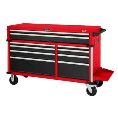 High Capacity 56 in. 10-Drawer Roller Cabinet Tool Chest
