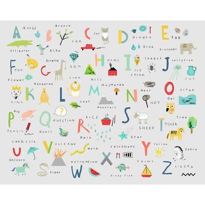 Off-White Alphabet Wall Applique