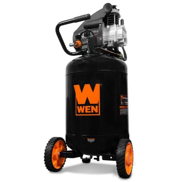 Wen Oil Lubricated Portable Vertical Air Compressor