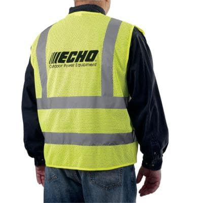 Hi-Visibility Neon Yellow Safety Vest XL