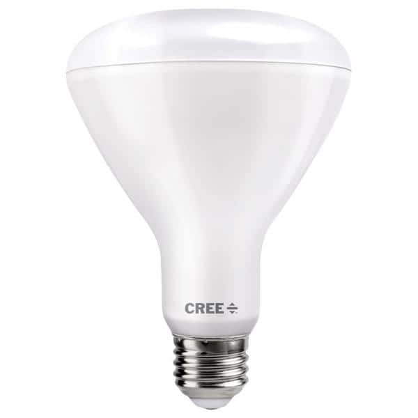Cree Lighting BR40-120W-P1-30K-E26-U1 Pro Series BR40 Indoor Flood 120W Equivalent LED Bulb Dimmable 1750 lumens Bright White 3000K 1 Pack