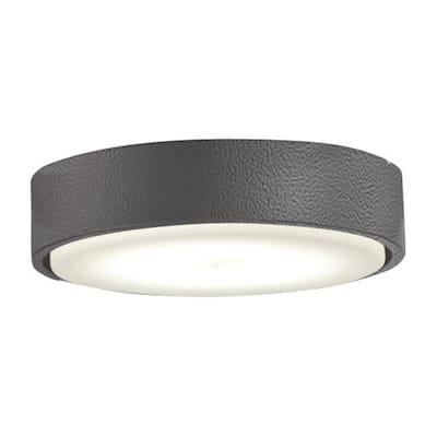 1-Light LED Smoked Iron Ceiling Fan Light Kit