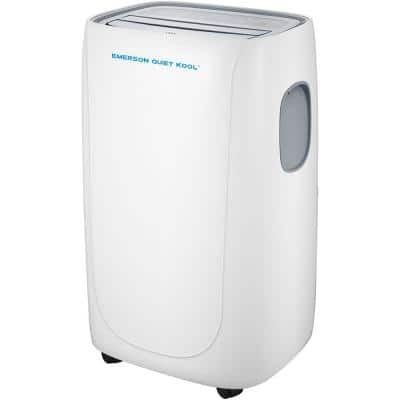 8000 BTU 5000 BTU (DOE) SMART Portable Air Conditioner with Remote, Wi-Fi, and Voice Control for Rooms up to 300 sq. ft.