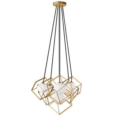 Thomson 6-Lights Gold LED Pendant