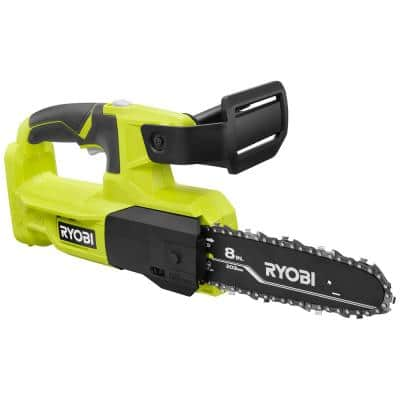 One+ 8 in. 18-Volt Lithium-Ion Battery Pruning Chainsaw (Tool-Only)