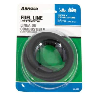 Low Permeation Fuel Line for Lawn Mowers