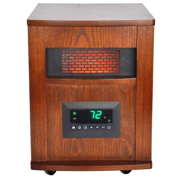Laguna Oak Powerheat® Infrared Quartz Tower Heater