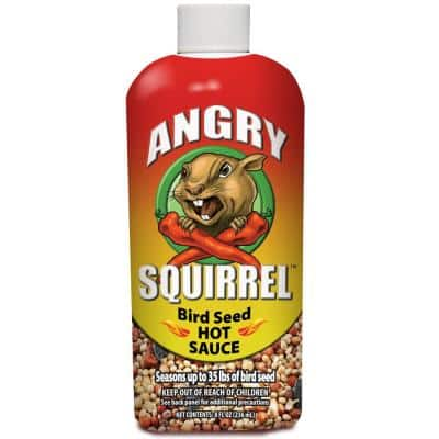 8 oz. Angry Squirrel Bird Seed Hot Sauce