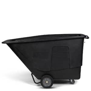1-1/2 Cubic Yard 1,200 lbs. Capacity Standard Duty Tilt Truck - Blackstone