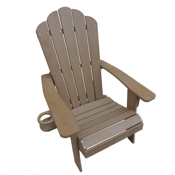 Island Retreat Adirondack Chair Outdoor, Composite Outdoor Furniture