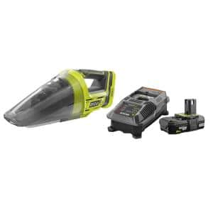 ONE+ 18V Lithium-Ion Cordless Hand Vacuum with 2.0 Ah Battery and Charger Kit