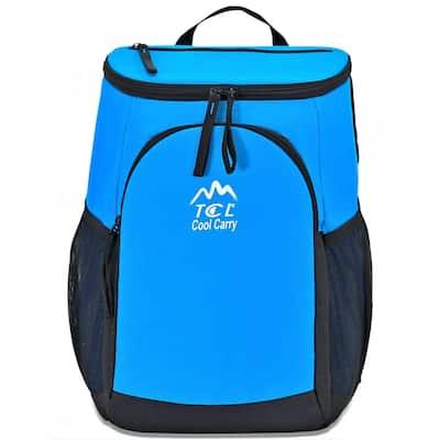 Cool Carry 16 in. Cooler Backpack with Adjustable Shoulder Straps