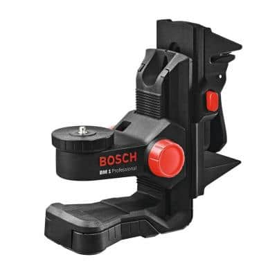 Laser Level Positioning Device with Microfine Height Adjustment and Strong Magnets includes Ceiling Clip