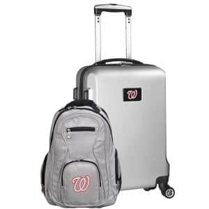 Washington Nationals Deluxe 2-Piece Backpack and Carry on Set