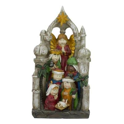 11 in. Christmas Children's First Nativity Scene Decoration