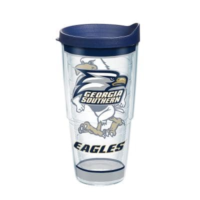 Georgia Southern University Tradition 24 oz. Double Walled Insulated Tumbler with Lid