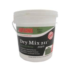 10 lbs. Dry Mix 211 Refractory Mortar Tub