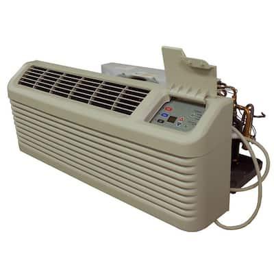 14,200 BTU R-410A Packaged Terminal Heat Pump Air Conditioner + 2.5 kW Electric Heat 230-Volt