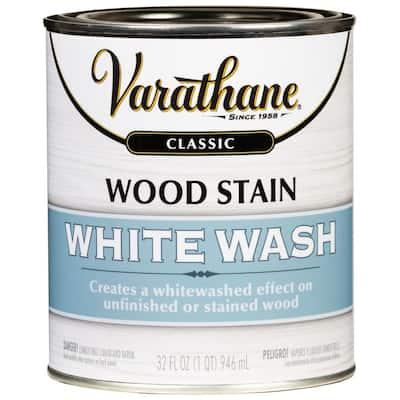1 qt. White Wash Interior Wood Stain