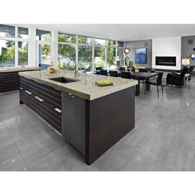 4 ft. Solid Surface Countertop in Poplar