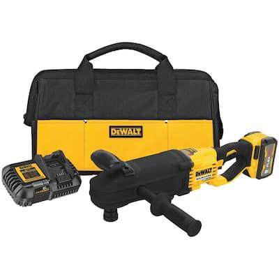 FLEXVOLT 60-Volt MAX Cordless Brushless Quick-Change Stud & Joist Drill (Tool-Only) & (1) FLEXVOLT 9.0Ah Battery