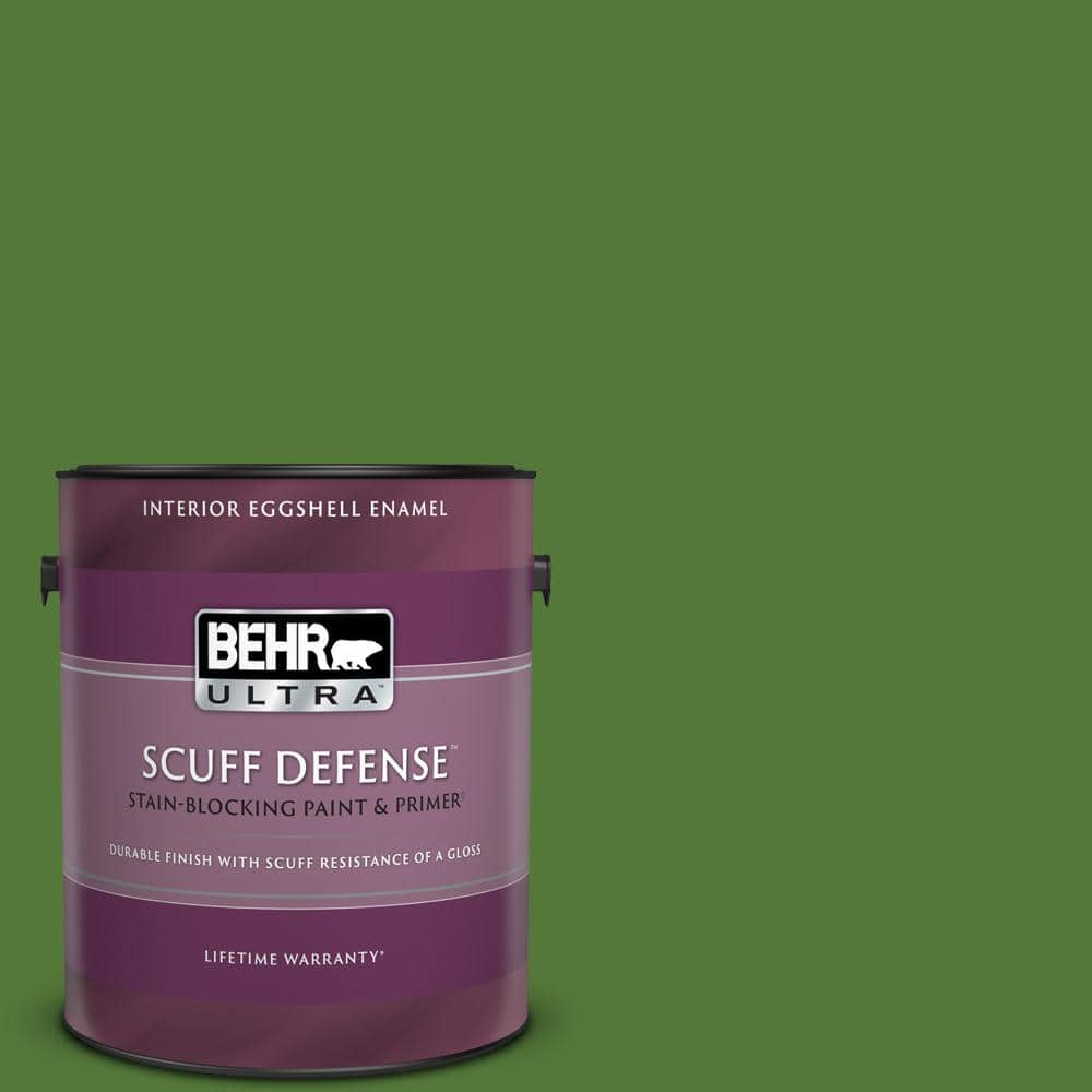 Behr Ultra 1 Gal P380 7 Luck Of The Irish Extra Durable Eggshell Enamel Interior Paint Primer 275301 The Home Depot