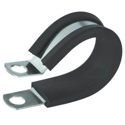 1/2 in. Rubber Insulated Clamp (2-Pack)