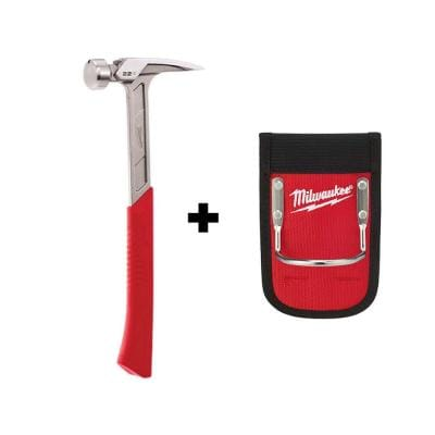 22 oz. Smooth Face Framing Hammer with Hammer Loop