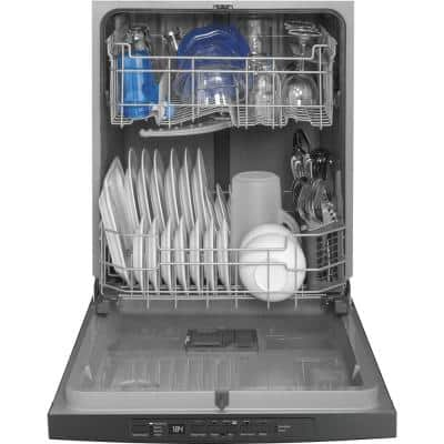 24 in. Stainless Steel Top Control Built-In Tall Tub Dishwasher 120-Volt with Steam Cleaning and 54 dBA
