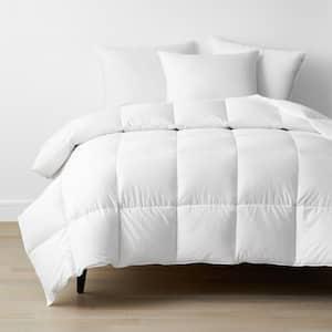 Company Conscious Medium Warmth White Twin Down Alternative Comforter