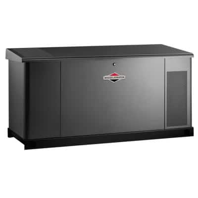 25,000-Watt Automatic Liquid Cooled Standby Generator with 400 Amp/Dual 200 Amp Transfer Switch - Single Phase