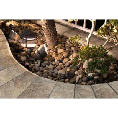 Silver 12 in. x 24 in. Gray Travertine Pool Coping (15 Pieces / 30 Sq. Ft. / Pallet)