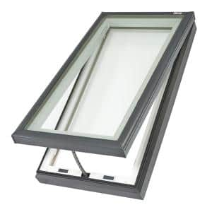 22-1/2 in. x 34-1/2 in. Fresh Air Venting Curb-Mount Skylight with Laminated Low-E3 Glass