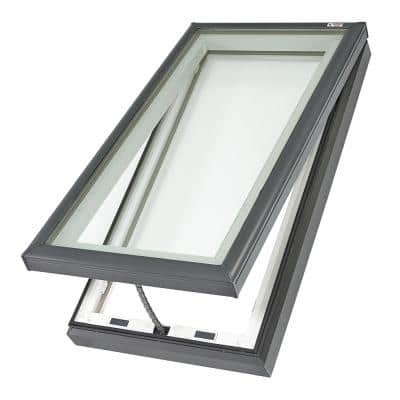22-1/2 in. x 34-1/2 in. Fresh Air Venting Curb-Mount Skylight with Tempered LowE3 Glass