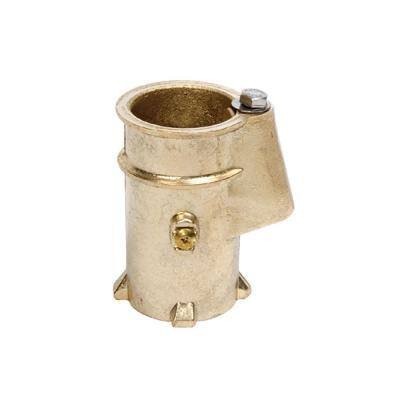 4 in. Swimming Pool Rail Anchor Socket for 1.90 in. O.D. Tubing in Bronze For Above Ground Pool
